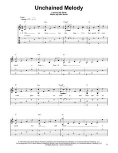 Tablature guitare Unchained Melody de The Righteous Brothers - Tablature guitare facile Guitar Acoustic Songs, Great Guitar Songs, Guitar Tabs And Chords, Easy Guitar Tabs, Guitar Tabs Songs, Guitar Sheet Music, Ukulele Fingerpicking Songs, Guitar Strumming, Guitar Riffs