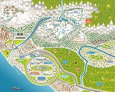 Sochi 2014 Interactive Map » From Fiasco Design