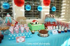 Set-up  The Puppy/Dog Party Printable Party by pinkpeppermintprints, $35.00
