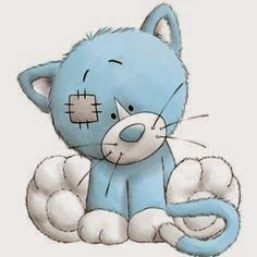 Kittywink the cat - Tatty Teddy Friends Tatty Teddy, Teddy Bear, Cute Images, Cute Pictures, Baby Animals, Cute Animals, Blue Nose Friends, Bear Drawing, Friends Image