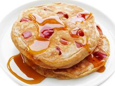 Get Ellie Krieger's Whole-Wheat Apple Pancakes Recipe from Food Network
