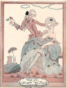 Rococo - please post a comment if you know who this artist is, I can't find it!