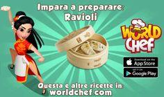 World Chef, App Store Google Play, Ravioli, Food, Essen, Meals, Yemek, Eten