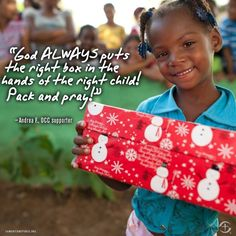 Since they began in 1999, Operation Christmas Child has delivered over 100 million shoeboxes to needy children around the world. Description from littlebirdieblessings.blogspot.com. I searched for this on bing.com/images