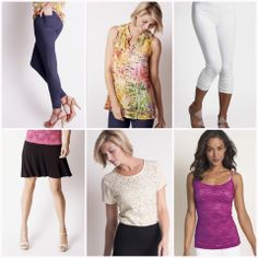 Lots of GREAT style from Ruby Ribbon! www.rubyribbon.com/AmyKnowles