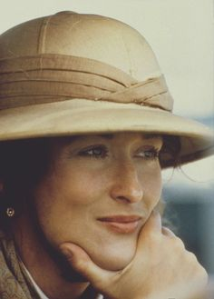 Out of Africa--saw it last week.  Never loses greatness to me.  Scenery, costuming, themes, MERYL & REDFORD--need I say more?