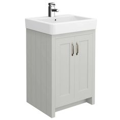 Find cheap vanity units and bathroom units in our bathroom furniture sale! Massive reductions on bathroom furniture; Freestanding Vanity Unit, Gray Vanity, Grey Vanity Unit, Traditional Bathroom, Vanity, Vanity Sink, Traditional Vanity, Adjustable Shelving, Mold In Bathroom