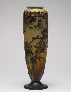 Émile Gallé. Vase, ca 1900.