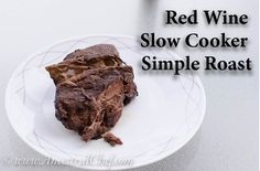 paleo red wine slow