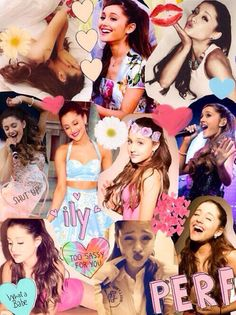 Ariana collage