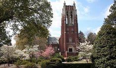 Boatwright Memorial Library, University of Richmond, Virginia