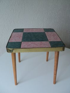 1950s coffee table / plant table by Veryodd on Etsy, $99.95