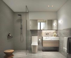 Gorgeous bathroom! By @bharchitects