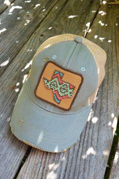 Judith March Beaded Texas Hat