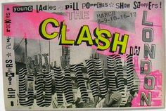 Usually when we would leave a show inthe 80's, therewould always bepeople standing outside handing you flyers to the next show, something that's lasted through the decades. One way to make sure people did not throw them away was by having killer art on them. Not only did many illustrators