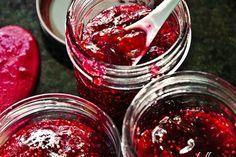 Blueberries and Cape Gooseberries combine for a delicious no pectin jam recipe