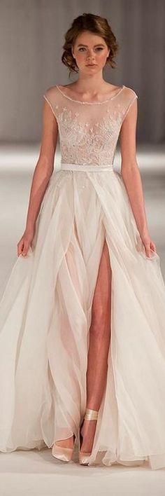 Paolo Sebastian wedding dress. My favorite gown.