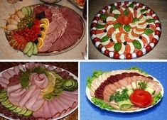 Beautiful dishes on the holiday table…. Christmas Appetizers, Appetizers For Party, Food Design, Fruits Decoration, Food Carving, Healthy Banana Bread, Party Trays, Brunch Party, Food Platters