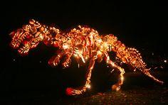Great Jack O'Lantern Blaze - I see your jack-o-lantern and raise you a T-Rex!