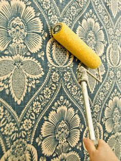 Fabric wall coverings instead of wall paper. No mess when you want a change of scenery!