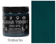 Dark Teal Hair Dye by LunarTidesHair on Etsy https://www.etsy.com/au/listing/294631251/dark-teal-hair-dye