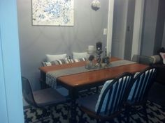 Dining room is done
