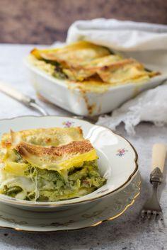 piatto-lasagna-broccoli Pasta, Quiche, Broccoli, Breakfast, Food, Lasagna, Morning Coffee, Essen, Quiches