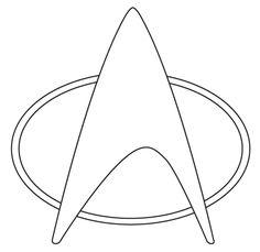 star trek cut out Star Trek Birthday, Star Trek Party, Star Trek Theme, Diy Birthday, Star Trek Cake, Star Trek Enterprise, Affiche Star Trek, Star Trek Insignia, Star Trek Communicator