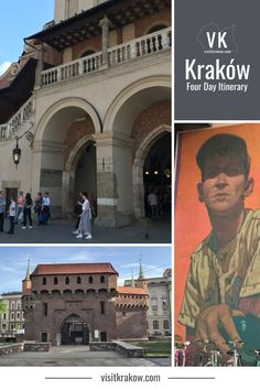 Three days in Kraków lets you explore the key sightseeing districts in the centre of the city and to head out of town for at least one day trip. This is the ideal way to make the most of three days in Kraków.  #visitkrakow #visitpoland Visit Krakow, Visit Poland, One Day Trip, Best Places To Eat, Three Days, Travel Guide, The Good Place, Centre, At Least
