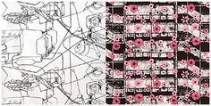 Fabrics by FokusFabrik Pattern Design, Design Inspiration, Fabric, Blog, Heaven, Handmade, Textiles, Vintage, Products