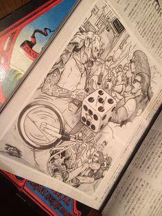 11日(木)12日(金)は、16時からの営業となります!      本日発売   VIBES Vol.255 P093   CHOPPER STORY   『IN THE WIND 04』