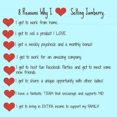 Why do I love selling Jamberry? Let me count the ways! Join my team today! #makemoney #joinmyteam #ilovemyjob www.kassiepfield.jamberrynails.net/join