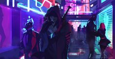 """Cyberpunk Art Thread - """"/tg/ - Traditional Games"""" is imageboard for discussing traditional gaming, such as board games and tabletop RPGs. Cyberpunk City, Cyberpunk 2077, Cyberpunk Kunst, Cyberpunk Aesthetic, Cyberpunk Clothes, Blade Runner, Cyberpunk Character, Shadowrun, Sci Fi Fantasy"""