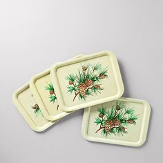 cool holiday serving trays