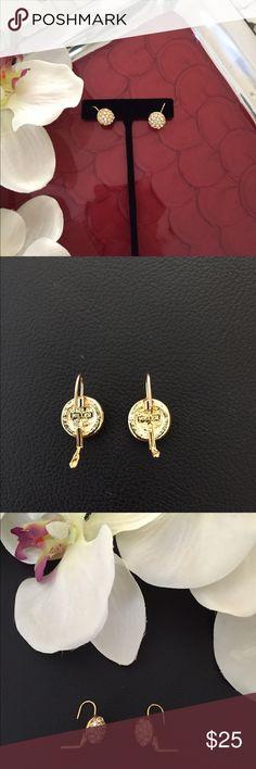 Nolan Miller Jackie Collins Estate Earrings Black Pearl Celebrity Jewelry Earrings