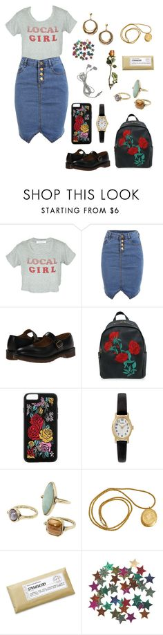 """""""Untitled #362"""" by ellie2850 ❤ liked on Polyvore featuring Dr. Martens, Boohoo, Timex, MANGO and Williams-Sonoma"""
