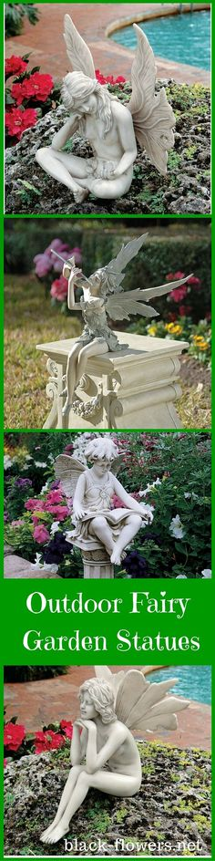 Outdoor Fairy Garden Statues
