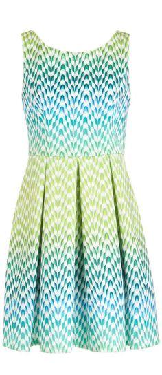 Chevron Kaleidoscope Dress ♥