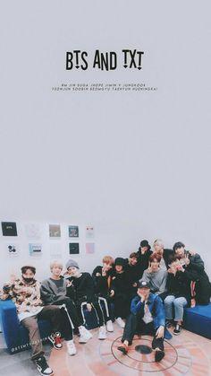 BTS and TXT. Dongsaengs and Hyungs~ how sweet~ K Pop, Foto Bts, Bts Photo, Billboard Music Awards, Bts Bangtan Boy, Bts Jimin, Bts Love, Bts Lyric, Les Bts