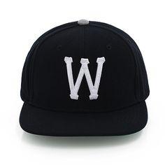 조인성에 이어 송중기까지 쓴 제품!  WESC 위에스씨 [WESC] WeSC League W snapback(black) E2