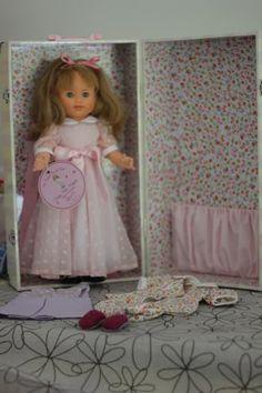 La passion du Jouet - marie francoise original petite fille modele avec sa mallel - MODES et travaux