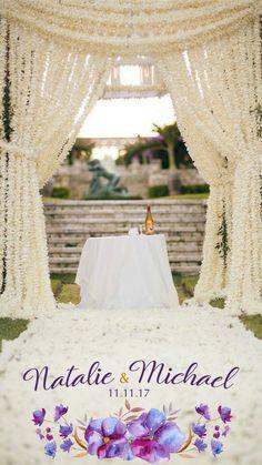 Wedding Snapchat Geo Filter