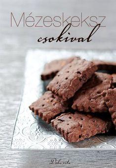 Fő az egészség: keksz mézzel | Dolce Vita Blog Stamp Cookies Recipe, Vegan Christmas Desserts, Cookie Recipes, Dessert Recipes, Sweets Cake, Baking And Pastry, Dessert Drinks, Healthy Sweets, Pavlova