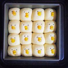 Bread rolls ~ chicks