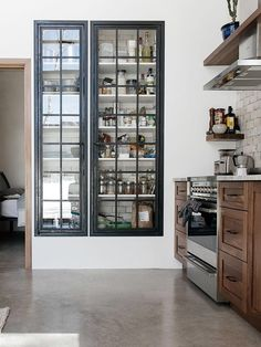- Furniture for Kitchen - rebel with cause : slow design. rebel with cause : slow design. Kitchen Pantry Doors, Kitchen Pantry Design, New Kitchen, Kitchen Storage, Interior Design Living Room, Kitchen Decor, Kitchen Cabinets, Awesome Kitchen, Kitchen Black