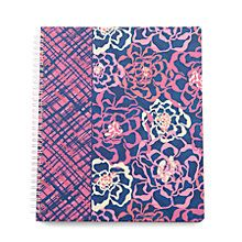 Notebook with Pocket in Katalina Blues | Vera Bradley