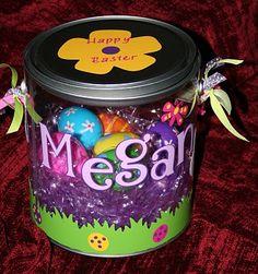 Easter Treats Gift Idea with Vinyl