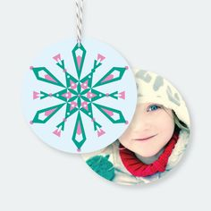 Modern Snowflake Ornaments   Paper Culture