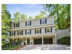 """6239 KELLOGG DR, MCLEAN, VA 22101 $899,500  Spacious and well-loved 4 BR home in sought after Potomac Hills with 2 full and 2 half baths on 3 finished levels. Inviting features include NEW roof; expansive LR and DR that open to patio and terraced garden; gorgeous HDWD floors on main and upper levels; and updated baths. Property conveys """"AS IS""""--great opportunity to update to buyer's taste."""