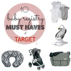 Baby Registry Must Haves at Target